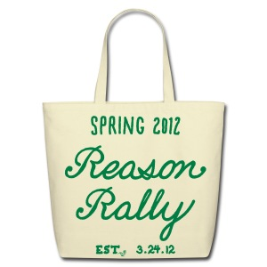 Reason Rally by Tai's Tees - Eco-Friendly Cotton Tote