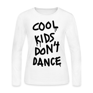 1D - Cool Kids Don't Dance - Women's Long Sleeve Jersey T-Shirt