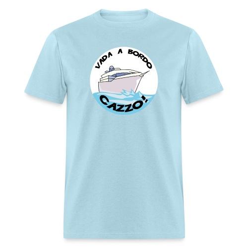 Get Back Onboard Captain Standard Weight T-Shirt - Men's T-Shirt