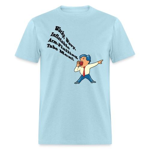 Wacky, Wavy, Inflatable, Arm-flailing Tube Men Standard Weight T-Shirt - Men's T-Shirt
