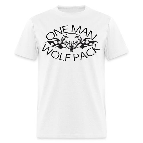 One Man Wolf Pack Standard Weight T-Shirt - Men's T-Shirt
