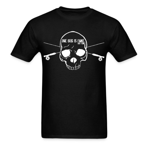 One Bug's Jolly Roger - Men's T-Shirt
