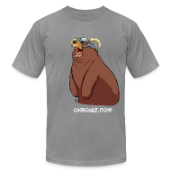 T-Shirts ~ Men's T-Shirt by American Apparel ~ Happy Dovahbear (M)
