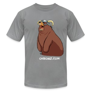 Happy Dovahbear (M) - Men's T-Shirt by American Apparel