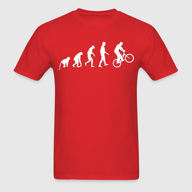 Evolution of biking T-Shirts - Men's T-Shirt