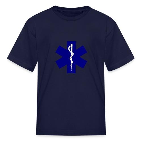 Kids EMS (Blue) - Kids' T-Shirt