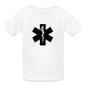 Kids EMS (Black) - Kids' T-Shirt