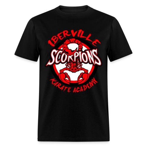 Iberville Scorpions BLACK - Men's T-Shirt