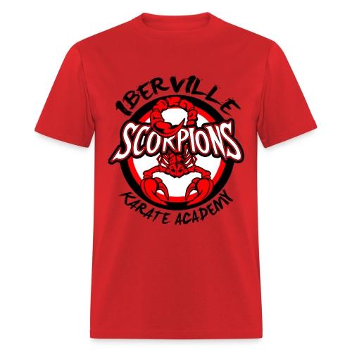 Iberville Scorpions RED - Men's T-Shirt