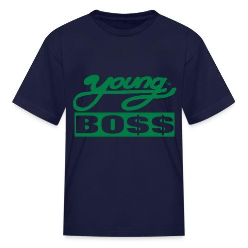 Kids Young Bo$$ - Kids' T-Shirt