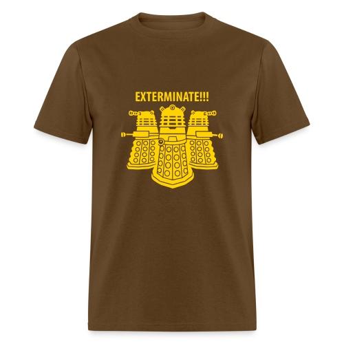 Dalek Exterminate!!! - Men's T-Shirt