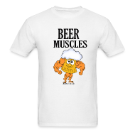 T-Shirts ~ Men's T-Shirt ~ Beer Muscles T-Shirt