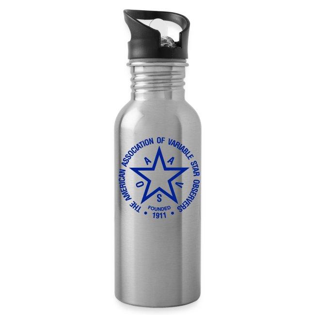 AAVSO Logo Water Bottle