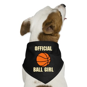 Basketball - Official Ball Girl Dog Bandana - Dog Bandana