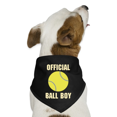Tennis - Official Ball Girl Dog Bandana - Dog Bandana