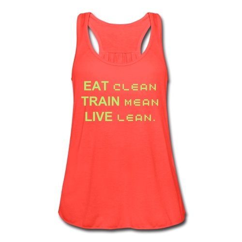 Women's Flowy Tank Top by Bella - workout,training,slogans,motivation,moms,inspiration,fitness,fitmom,exercise,Gym