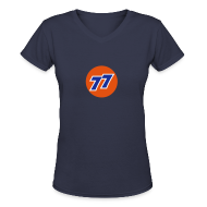 T-Shirts ~ Women's V-Neck T-Shirt ~ Carter's 77 - Women's Bella