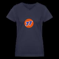 Women's T-Shirts ~ Women's V-Neck T-Shirt ~ Carter's 77 - Women's Bella