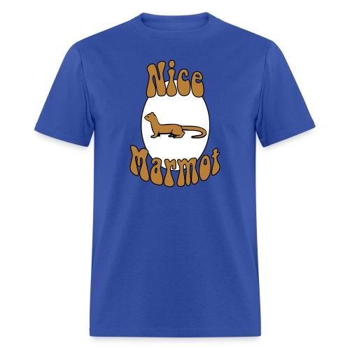 Nice Marmot Standard Weight T-Shirt - Men's T-Shirt