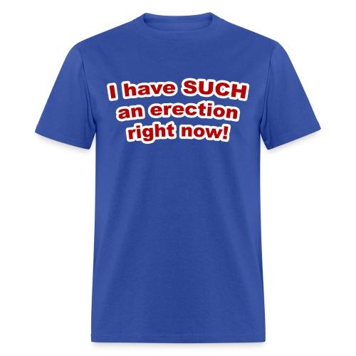 I Have SUCH an Erection Standard Weight T-Shirt - Men's T-Shirt