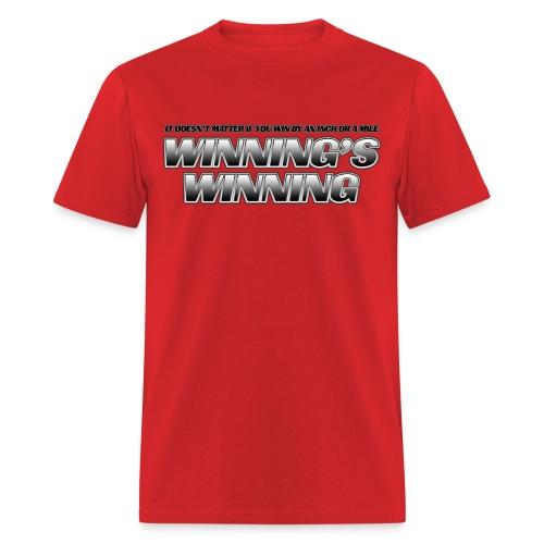 Winning's Winning Standard Weight T-Shirt - Men's T-Shirt