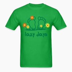 Lazy Days - Toes | desing your own funshirt T-Shirts