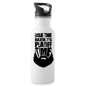Lose The Razor It's Playoff Beard Time Bottle - Water Bottle