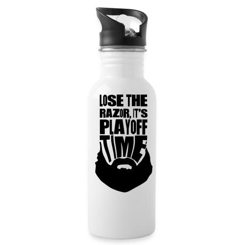 Lose The Razor It's Playoff Beard Time Bottle - Water Bottle