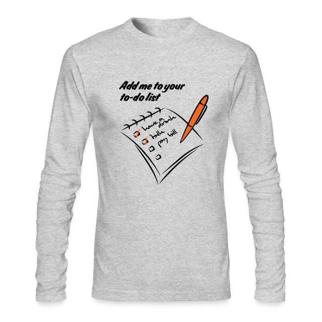 fun t shirts and cool shirt slogans add me to your to do list