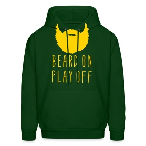 Playoff Beard 'Beard On Play Off' T-Shirt - Men's Hoodie
