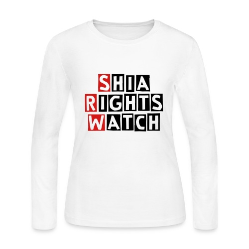 Shia Rights Watch - Women's Long Sleeve Jersey T-Shirt