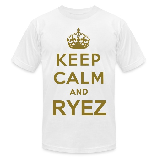 Keep Calm And Ryez - Men's  Jersey T-Shirt