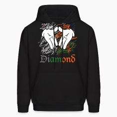diamond hands Hoodies