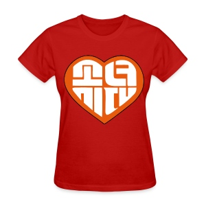 SNSD I Got A Boy - Heart (Orange) - Women's T-Shirt