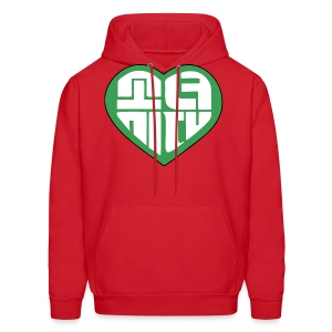 SNSD I Got A Boy - Heart (Green) - Men's Hoodie