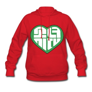 SNSD I Got A Boy - Heart (Green) - Women's Hoodie