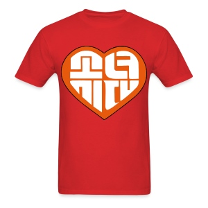 SNSD I Got A Boy - Heart (Orange) - Men's T-Shirt
