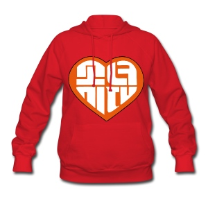 SNSD I Got A Boy - Heart (Orange) - Women's Hoodie