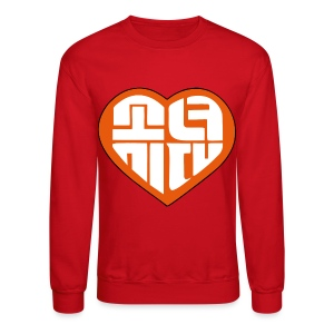 SNSD I Got A Boy - Heart (Orange) - Crewneck Sweatshirt