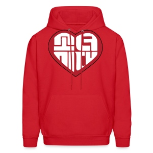 SNSD I Got A Boy - Heart (Red) - Men's Hoodie