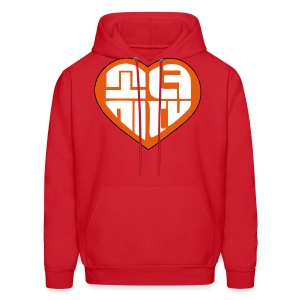 SNSD I Got A Boy - Heart (Orange) - Men's Hoodie