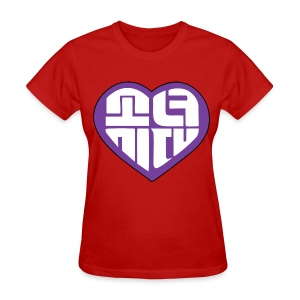 SNSD I Got A Boy - Heart (Purple) - Women's T-Shirt