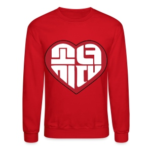 SNSD I Got A Boy - Heart (Red) - Crewneck Sweatshirt