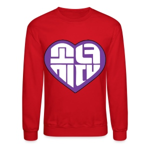 SNSD I Got A Boy - Heart (Purple) - Crewneck Sweatshirt