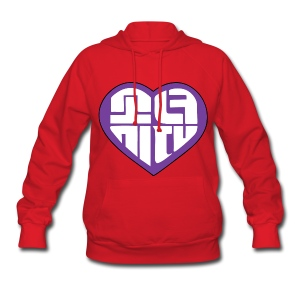 SNSD I Got A Boy - Heart (Purple) - Women's Hoodie