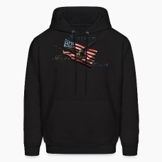 American Pride Bald Eagle & Flag Hoodies