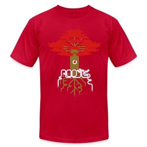 ROOTS - Men's T-Shirt by American Apparel