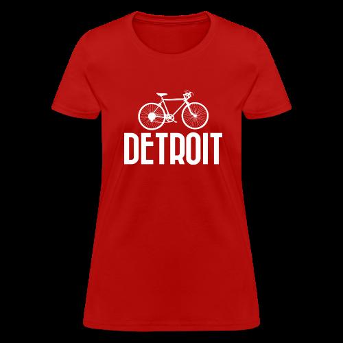 Bike Detroit - Women's T-Shirt