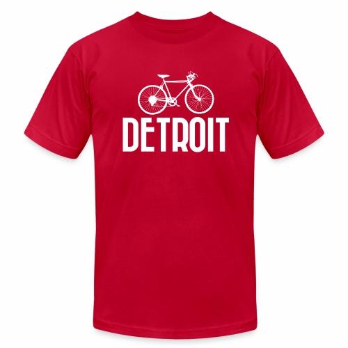 Bike Detroit - Men's Jersey T-Shirt