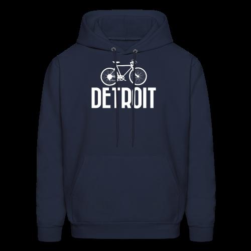 Bike Detroit - Men's Hoodie